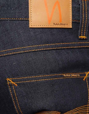Image 4 ofNudie Grim Tim Dry Dirty Organic Straight Jean