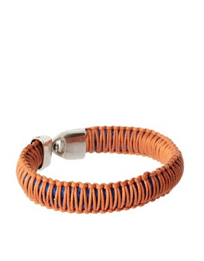 Image 1 ofASOS Wrapped Rope Bracelet