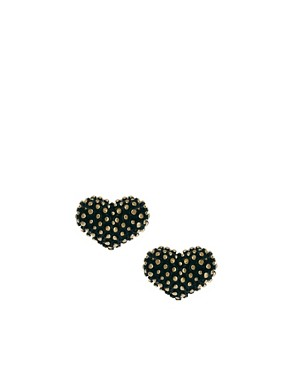 Image 1 ofOasis Heart Stud Earrings