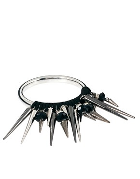Image 1 of Lipsy Spike Bangle