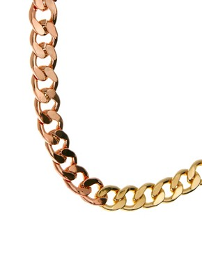 Image 3 ofASOS Mixed Curb Chain Necklace