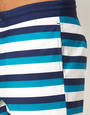 Image 3 ofASOS Stripe Swim Shorts
