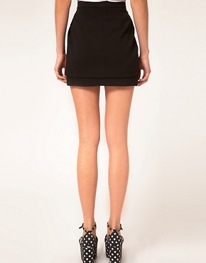 Image 2 ofASOS Mini Skirt With Tier