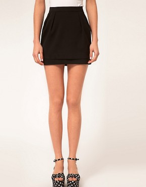 Image 4 ofASOS Mini Skirt With Tier