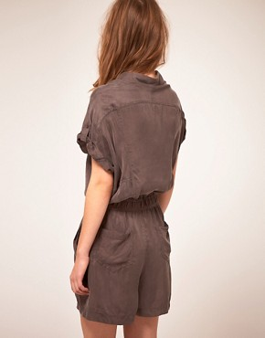 Image 2 ofStaple Cupro Playsuit