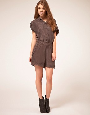 Image 4 ofStaple Cupro Playsuit