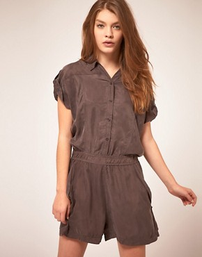 Image 1 ofStaple Cupro Playsuit