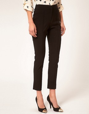Image 4 ofASOS Skinny Crop Trousers