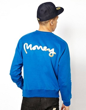 Image 2 ofMoney Crew Sweatshirt Purity Badge