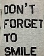 Image 3 ofAshish Exclusive to ASOS Dont Forget To Smile Sweatshirt