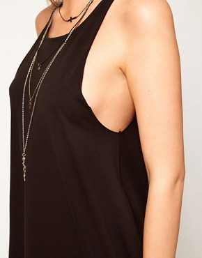 Image 3 ofASOS Vest in Oversize and Wash