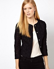 Karen Millen All Over Broderie Jacket