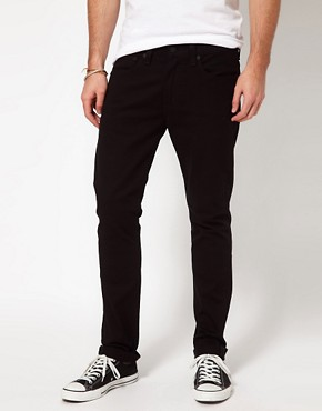 Image 1 ofLevis Jeans 510 Skinny Fit Jet Black