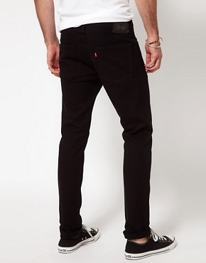Image 2 ofLevis Jeans 510 Skinny Fit Jet Black