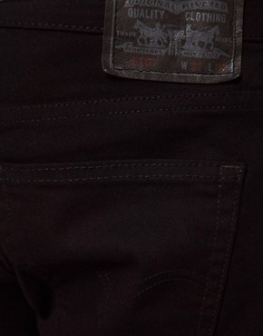 Image 4 ofLevis Jeans 510 Skinny Fit Jet Black