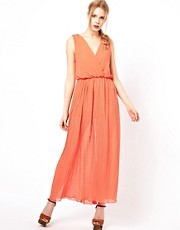 Love Wrap Detail Maxi Dress