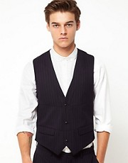 Vito Pinstripe Vest