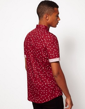 Image 2 ofASOS Shirt With Paisley Print