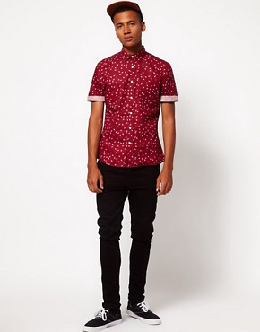 Image 4 ofASOS Shirt With Paisley Print