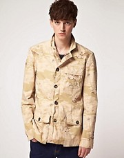 Shades of Gray Safari Jacket