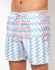 Franks Diamond Swim Shorts
