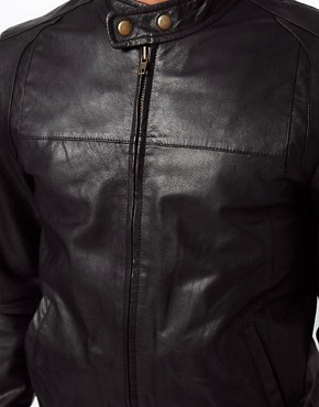 Image 3 ofSelected Biker Leather Jacket