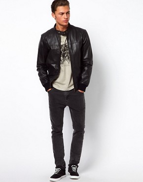 Image 4 ofSelected Biker Leather Jacket