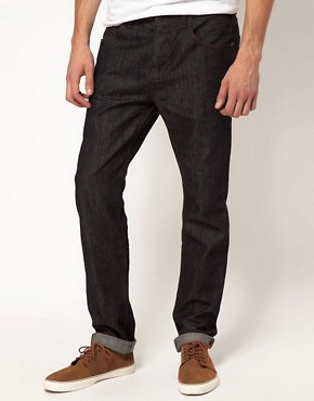 Image 1 ofASOS Slim Fit Indigo Jeans