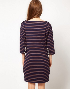 Image 2 ofFred Perry Striped Dress