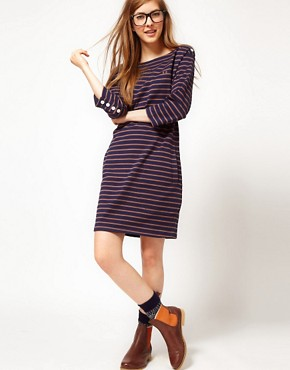Image 4 ofFred Perry Striped Dress