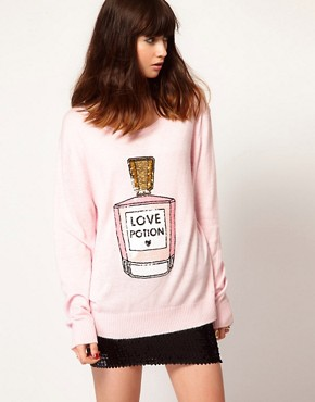 Image 1 ofWildfox Love Potion Jumper