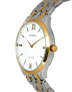 Image 3 of Sekonda Two Tone Bracelet Watch