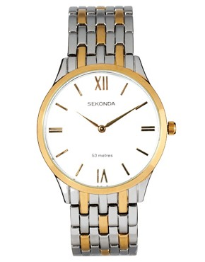 Image 1 of Sekonda Two Tone Bracelet Watch