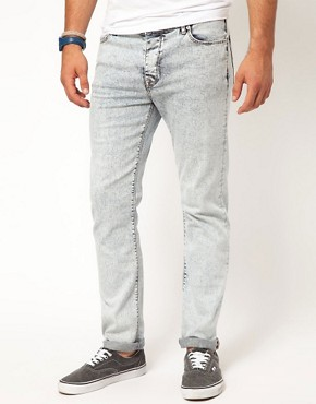 Image 1 ofASOS Super Skinny Jean With Light Acid Wash