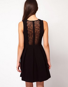 Image 1 ofWhistles Jessamine Lace Detail Dress