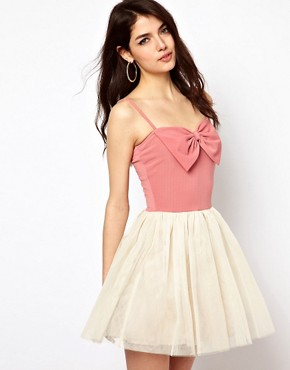 Image 1 ofPaprika Bow Front Dress