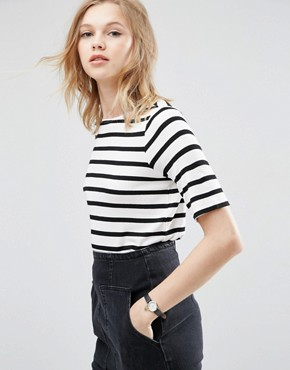 ASOS T-Shirt In Stripe