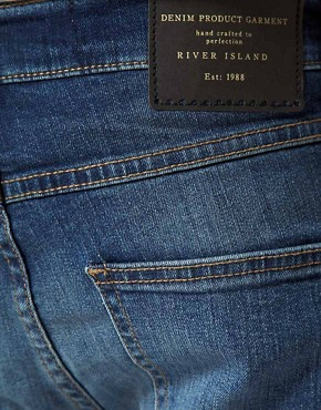 Image 4 ofRiver Island Victor Skinny Fit Jeans