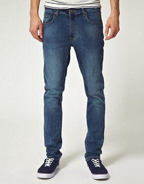Image 1 ofRiver Island Victor Skinny Fit Jeans