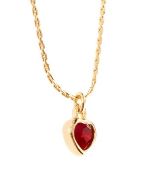 Image 4 ofSusan Caplan Vintage Christian Dior 90s Swarovski Heart Pendant Necklace