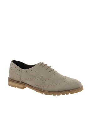 Image 1 of ASOS MARCH Leather Brogues