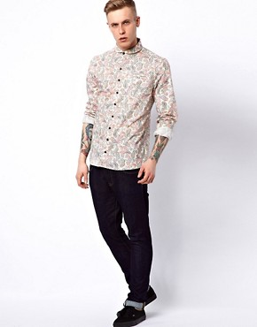 Image 4 ofVillain Zyon Shirt with Paisley Print