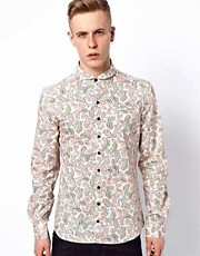Villain Zyon Shirt with Paisley Print