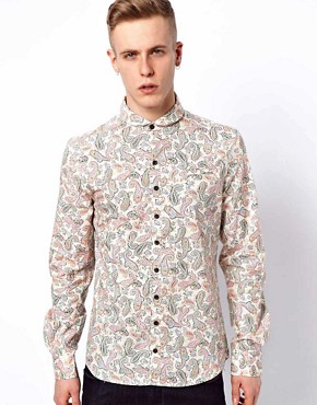 Image 1 ofVillain Zyon Shirt with Paisley Print