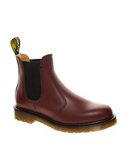 Dr Martens  Classics 2976  Chelsea-Stiefel in Burgunderrot