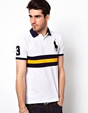 Polo Ralph Lauren Slim Polo with Chest Band