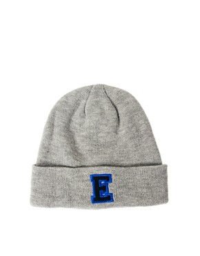 Image 2 ofASOS &#39;E&#39; Beanie