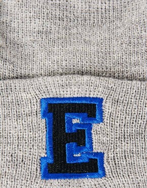 Image 3 ofASOS &#39;E&#39; Beanie