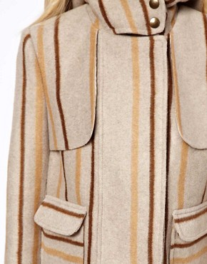 Image 3 ofASOS Blanket Jacket In Stripe