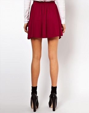 Image 2 ofASOS PETITE Skater Skirt
